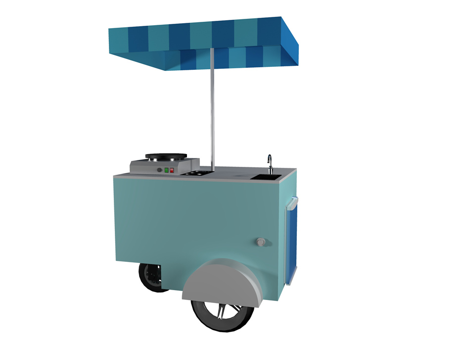 chiosco mobile cubic