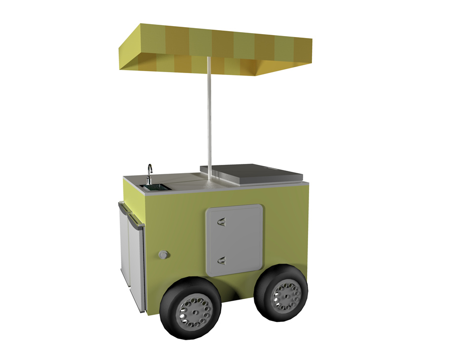 chiosco mobile cubic 2