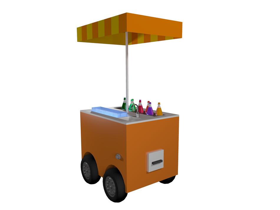 chiosco mobile mini