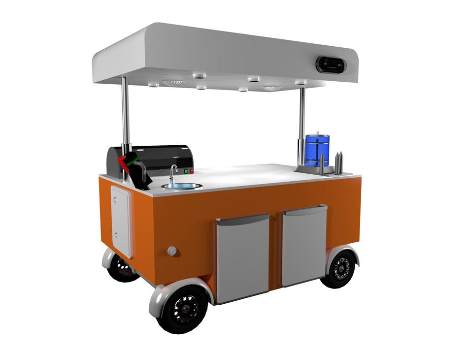 chiosco mobile maxi